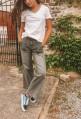 Jeans SCOTT flare bleu ou gris