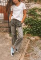 Jeans SCOTT flare grey or blue