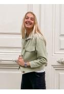 Jacket MARTY light green tweed