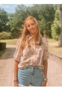 Flowered blouse CAPUCINE